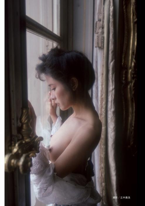 小柳ルミ子のヘアヌードグラビアエロ画像002