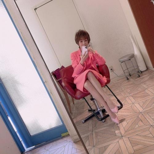 小柳ルミ子のインスタ写真エロ画像009