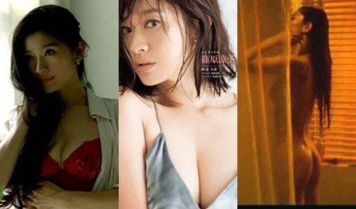 篠原涼子(45)の下着CMや全裸ヌード濡れ場画像等75枚