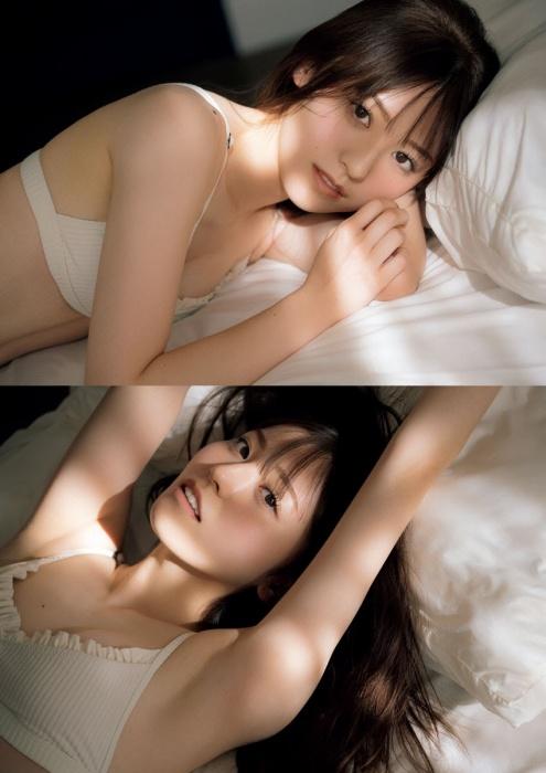吉井美優の水着グラビアエロ画像012