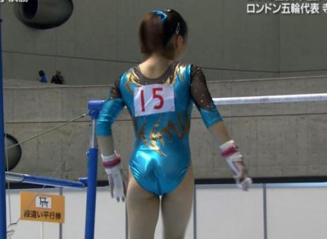 女子体操エロ画像
