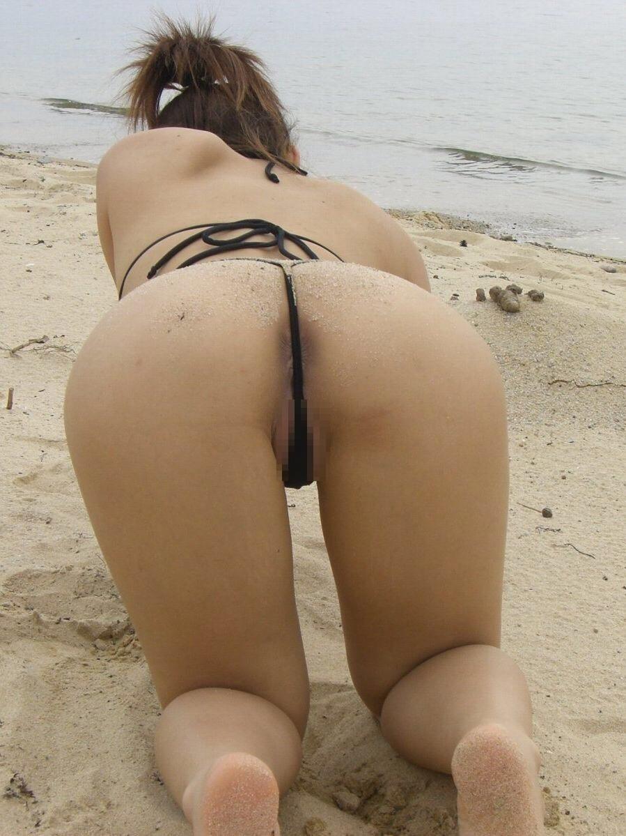 ヌーディストビーチ化した国内ビーチに現れる露出狂のエロ画像33枚・38枚目の画像