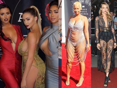 セクシードレス姿でおっぱいハミ出てる女のエロ画像30枚 表紙