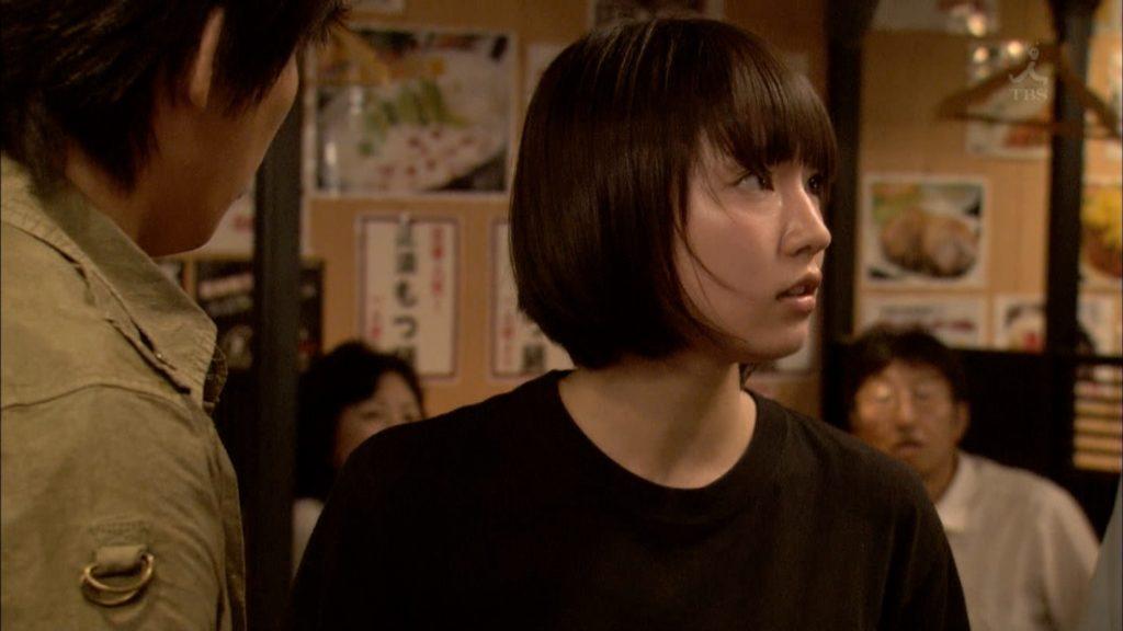 吉岡里帆のドラマ『死幣-DEATH CASH-』のエロ画像9