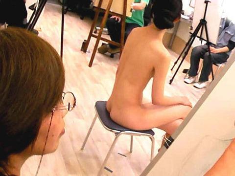 ヌードデッサンモデルが抜けるエロ画像30枚・15枚目の画像