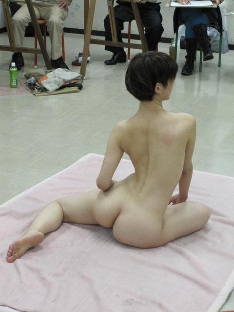 ヌードデッサンモデルが抜けるエロ画像30枚・16枚目の画像