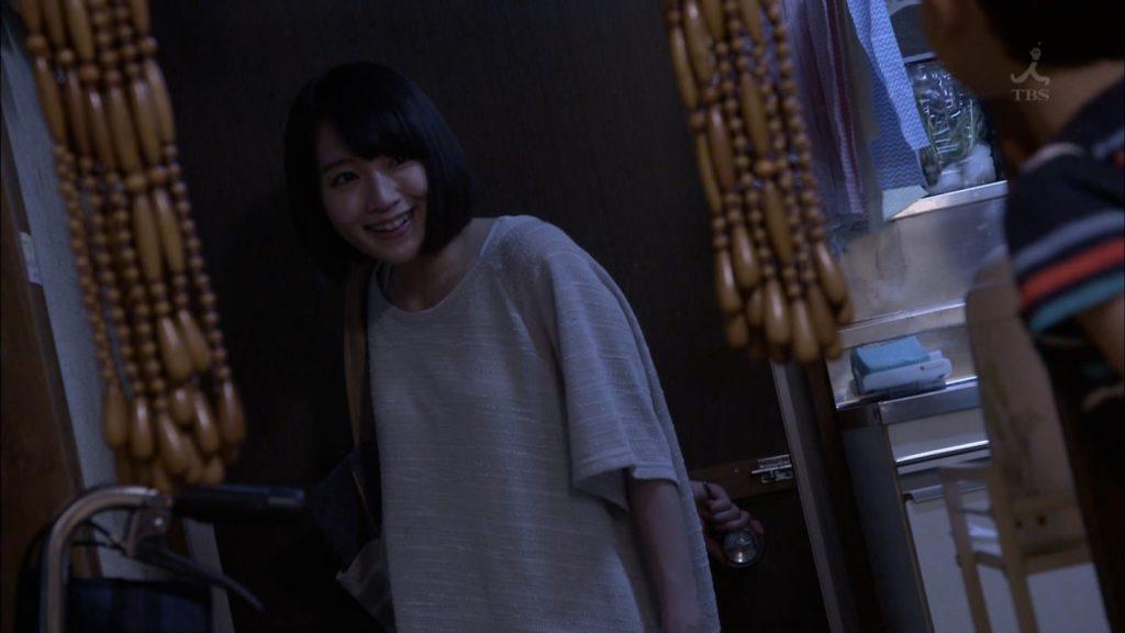 吉岡里帆のドラマ『死幣-DEATH CASH-』のエロ画像16