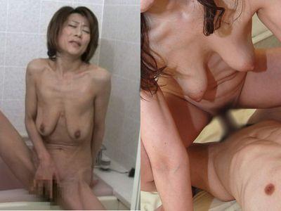 熟女垂れ乳 ヌード エロ画像 PinkLine