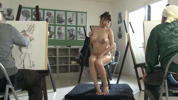 ヌードデッサンモデルという危険なアルバイトのエロ画像33枚・34枚目の画像