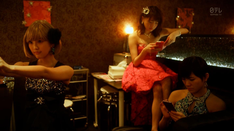 こじはるもキャバ嬢ドレスで巨乳おっぱい谷間を公開したキャバスカ学園のエロキャプ画像wwwww・13枚目の画像