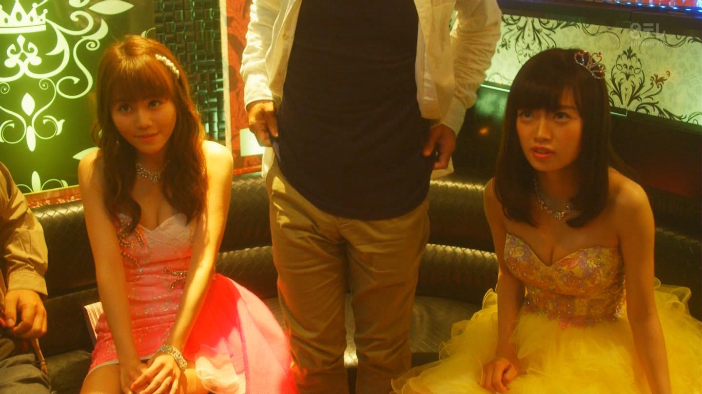 こじはるもキャバ嬢ドレスで巨乳おっぱい谷間を公開したキャバスカ学園のエロキャプ画像wwwww・29枚目の画像