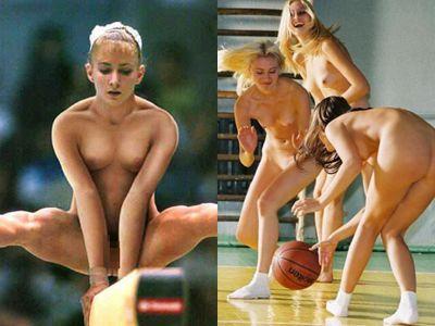 全裸でスポーツする外国人女子アスリートのエロ画像30枚