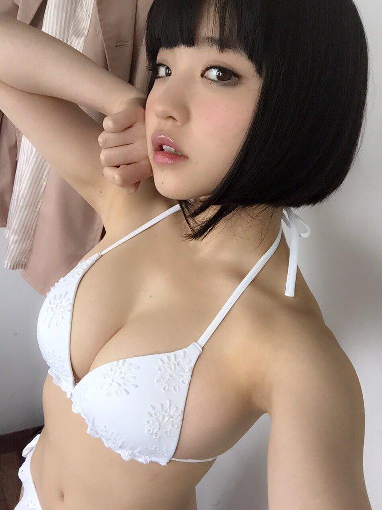 根本凪(19)GカップJKアイドルの水着グラビアエロ画像90枚・84枚目の画像