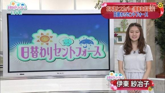 伊東紗冶子(23)Gカップキャスターの水着グラビア画像128枚・82枚目の画像