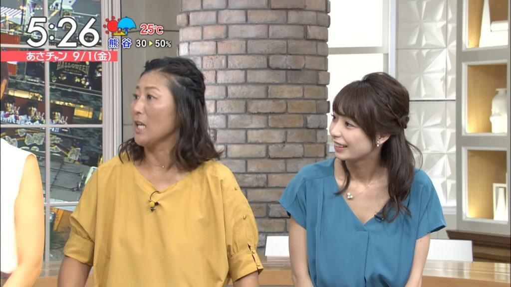 宇垣アナ(26)のアイコラヌード&Gカップ胸チラエロ画像118枚・9枚目の画像