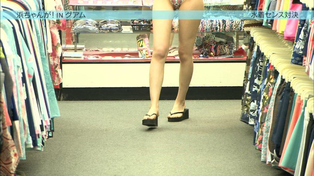 AKB阿部マリアが変態水着で胸チラにプリケツ丸見え放送事故28連発!・8枚目の画像