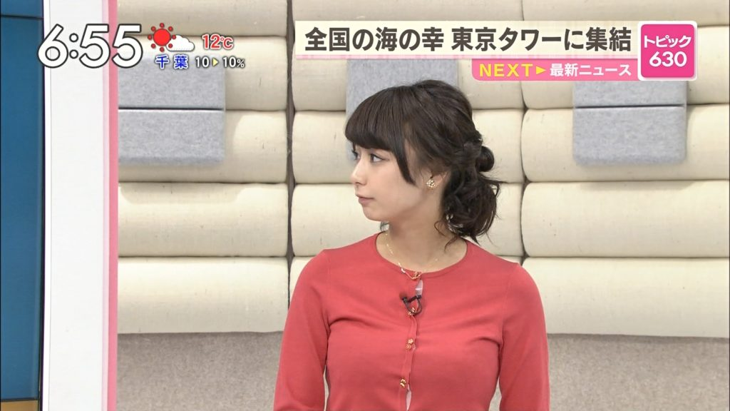 宇垣アナ(26)のアイコラヌード&Gカップ胸チラエロ画像118枚・68枚目の画像