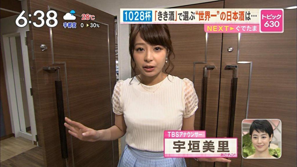 宇垣アナ(26)のアイコラヌード&Gカップ胸チラエロ画像118枚・91枚目の画像