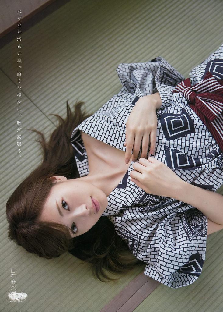 白石麻衣のグラビアエロ画像26