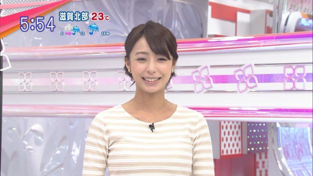 宇垣アナ(26)のアイコラヌード&Gカップ胸チラエロ画像118枚・107枚目の画像