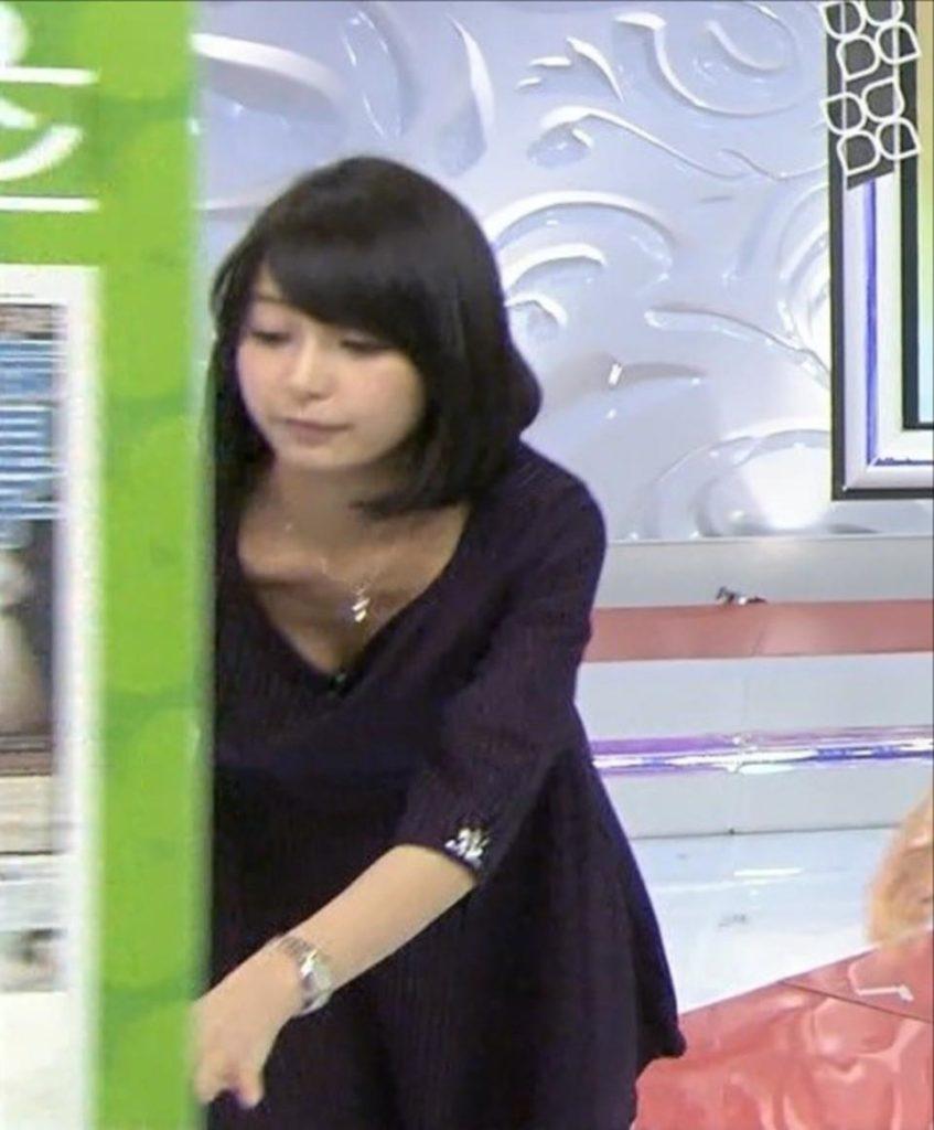 宇垣アナ(26)のアイコラヌード&Gカップ胸チラエロ画像118枚・108枚目の画像