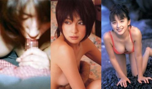 奥菜恵(39)のFカップ過激ヌードや流出写真のエロ画像75枚