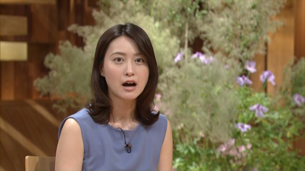 小川彩佳アナ 報ステ乳首ポッチ放送事故エロ画像85枚・7枚目の画像