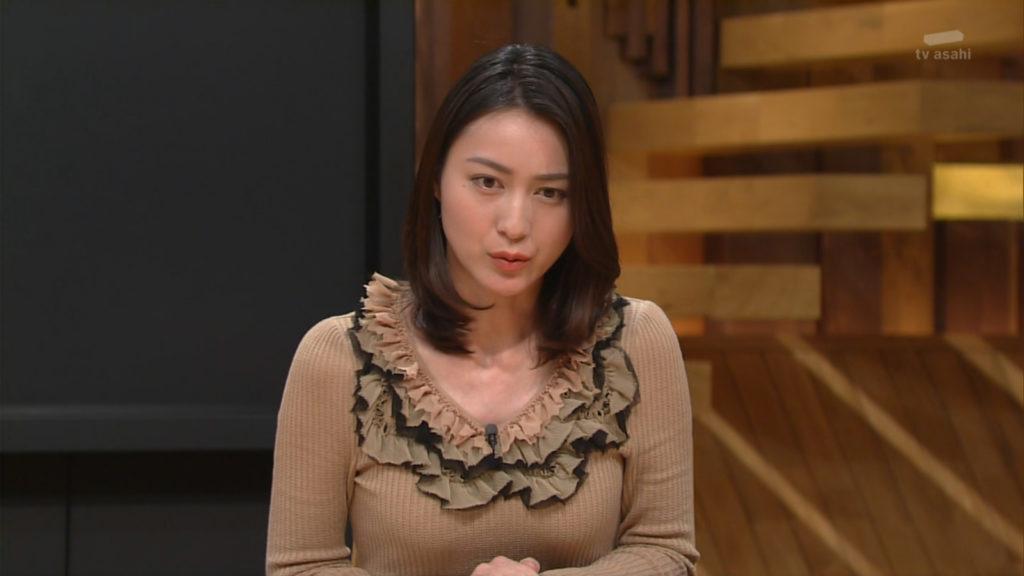 小川彩佳アナ 報ステ乳首ポッチ放送事故エロ画像85枚・73枚目の画像