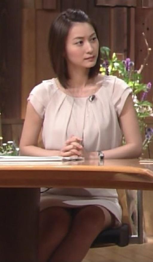 小川彩佳アナ 報ステ乳首ポッチ放送事故エロ画像85枚・74枚目の画像