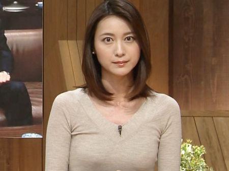 小川彩佳アナ 報ステ乳首ポッチ放送事故エロ画像85枚・81枚目の画像