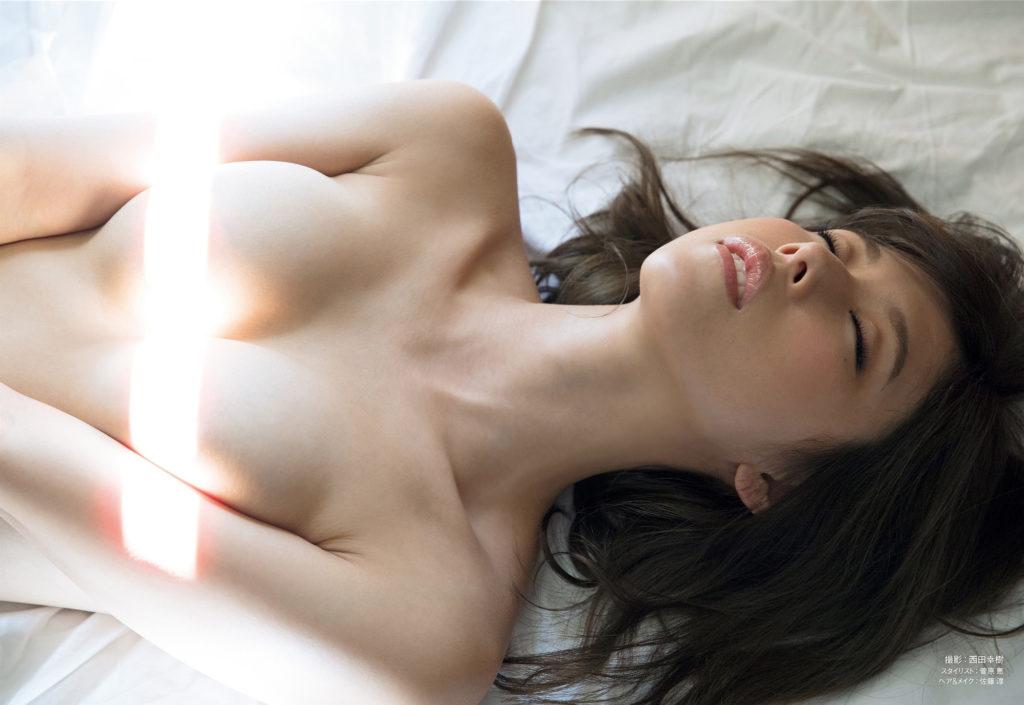 有村架純の紅白胸チラ谷間や乳首水着姿のエロ画像233枚・241枚目の画像