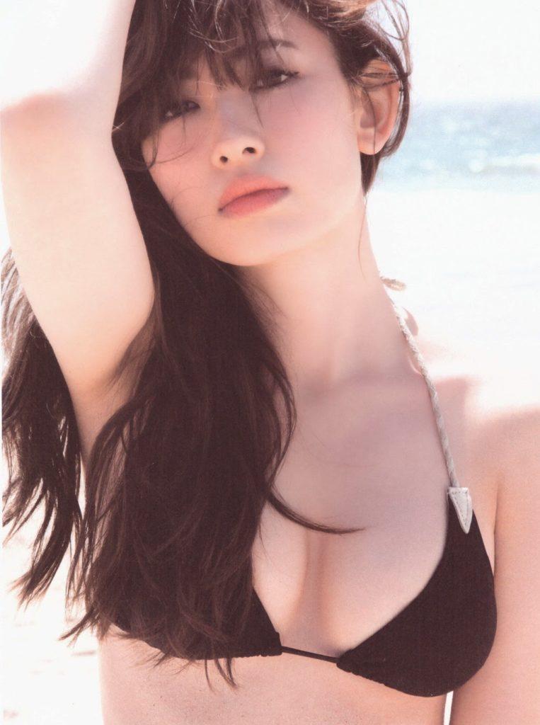"""小嶋陽菜""""ラストグラビア""""ぐうシコエロ画像30枚・12枚目の画像"""