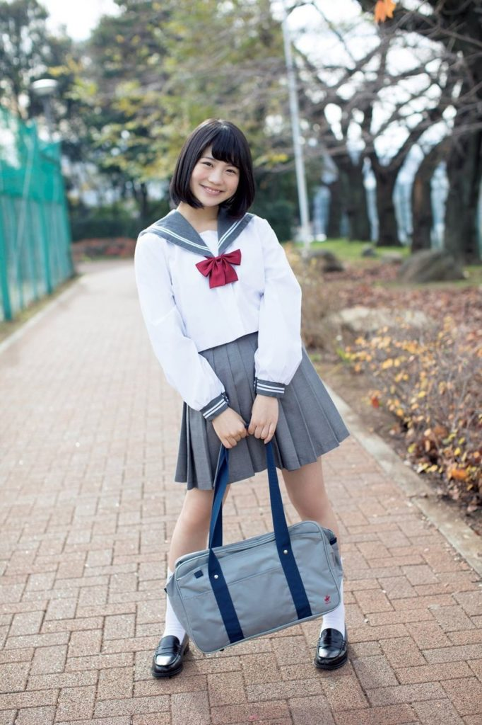 SKE48小畑優奈のグラビアエロ画像8