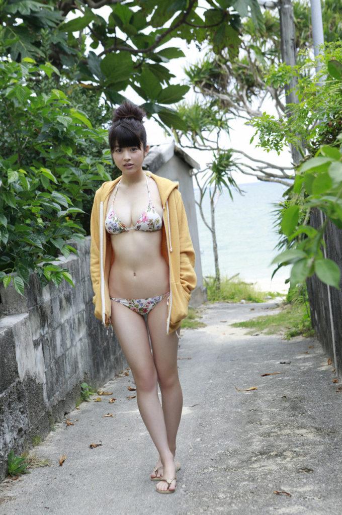 馬場ふみかのヤングジャンプ最新グラビアエロ画像9