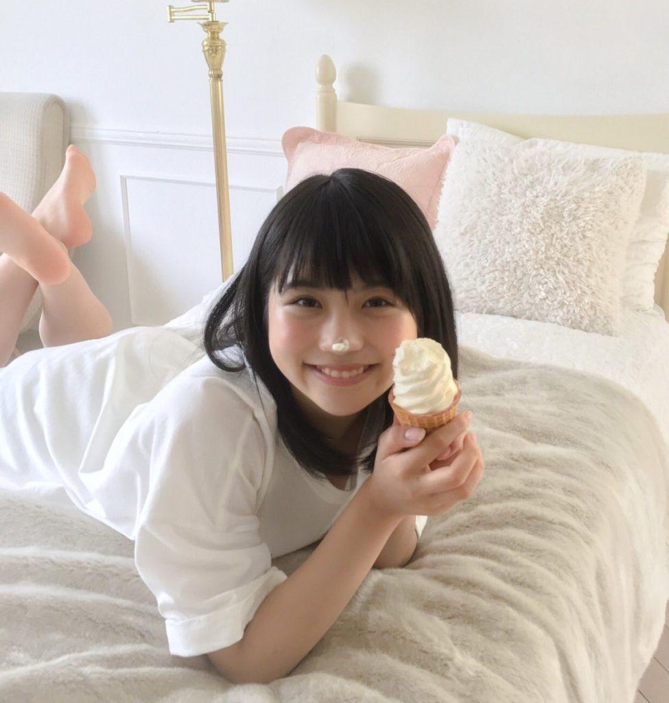 SKE48小畑優奈のグラビアエロ画像9