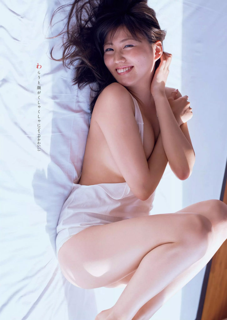 岩崎名美(20)Fカップ最新グラビアエロ画像32枚・9枚目の画像