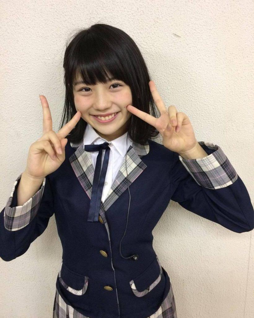 SKE48小畑優奈のグラビアエロ画像11
