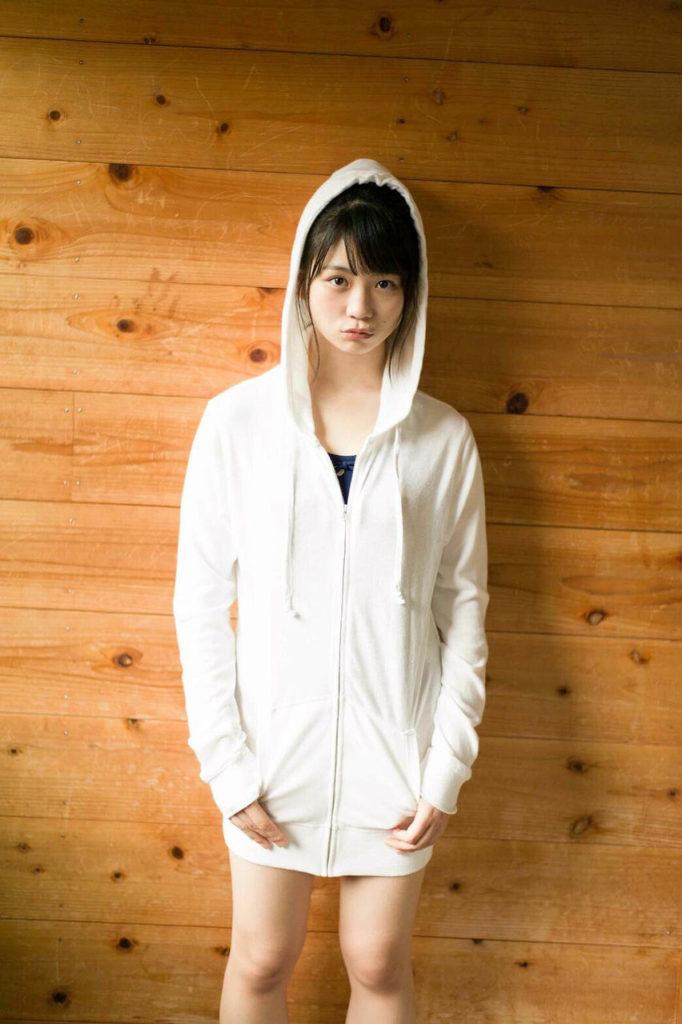SKE48小畑優奈のグラビアエロ画像14