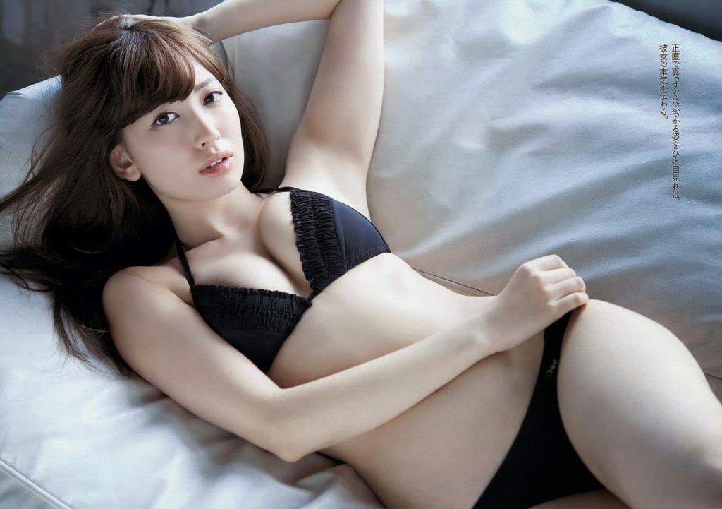 """小嶋陽菜""""ラストグラビア""""ぐうシコエロ画像30枚・24枚目の画像"""