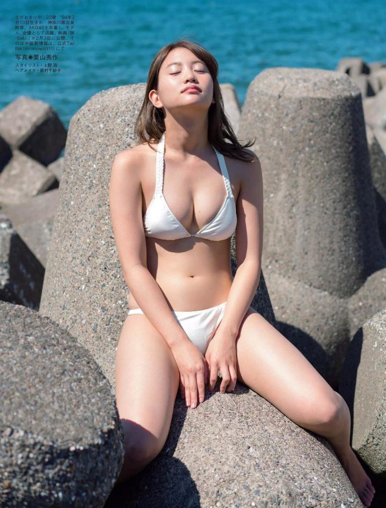 永尾まりや(23)の横乳ヌード写真集・濡れ場エロ画像183枚・90枚目の画像