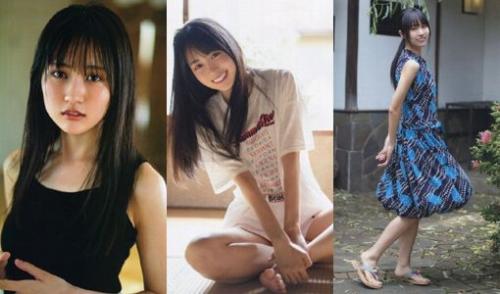 賀喜遥香のスリーサイズ画像