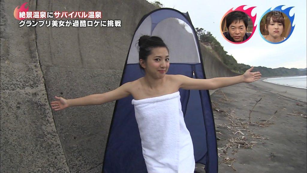 浜口順子(31)本能Zの入浴ロケエロ画像42枚・1枚目の画像