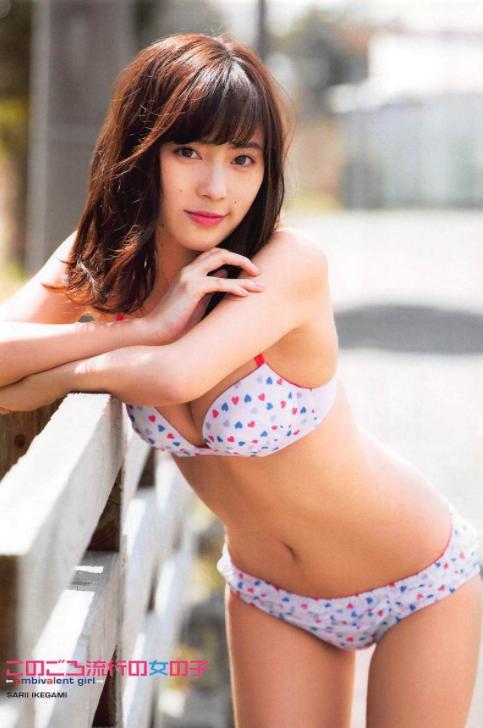 池上紗理依(22)ホクロ美女の水着グラビアエロ画像70枚・28枚目の画像