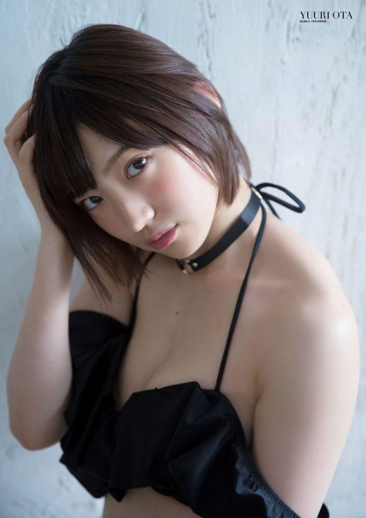 NMB48白間美瑠&太田夢莉のWグラビアエロ画像3