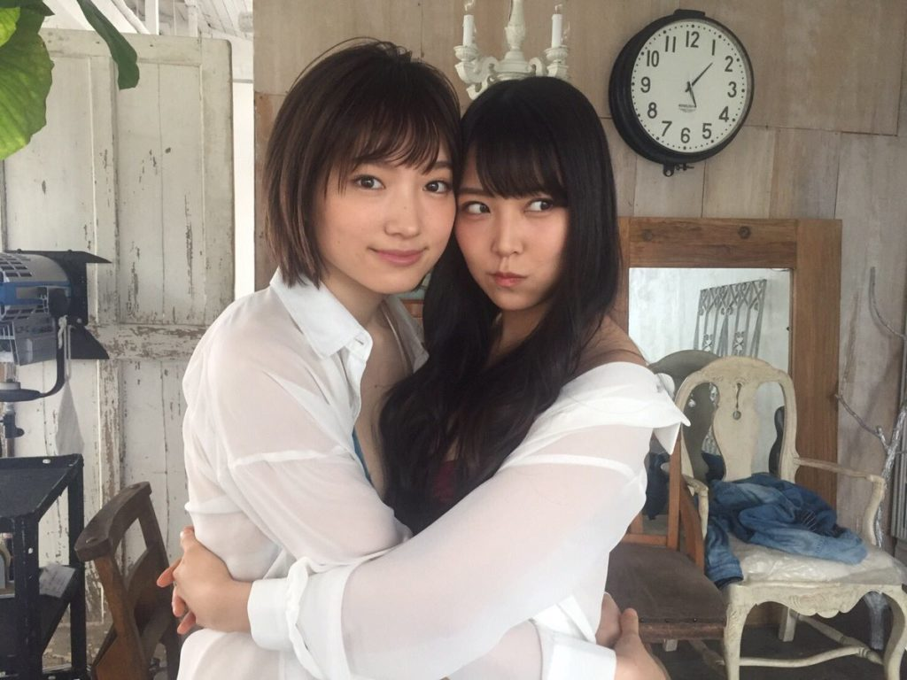 NMB48白間美瑠&太田夢莉のWグラビアエロ画像5