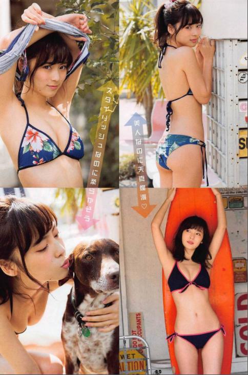 池上紗理依(22)ホクロ美女の水着グラビアエロ画像70枚・33枚目の画像