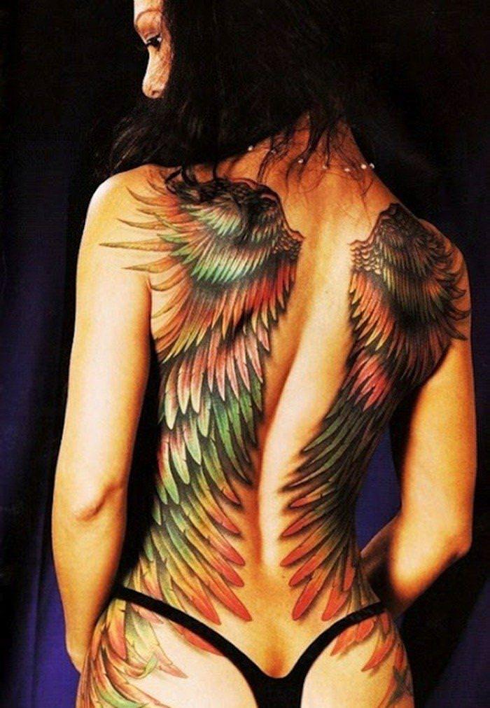 タトゥー大量外国人のヌードエロ画像35枚・12枚目の画像