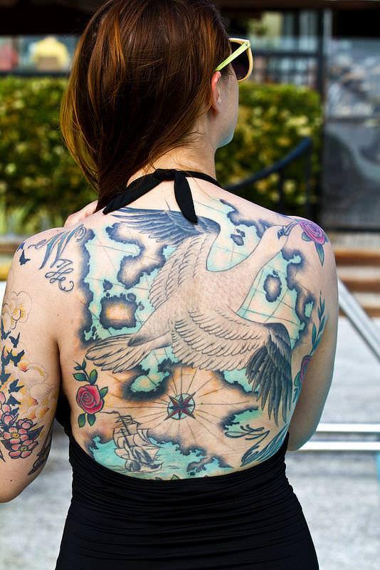 タトゥー大量外国人のヌードエロ画像35枚・19枚目の画像