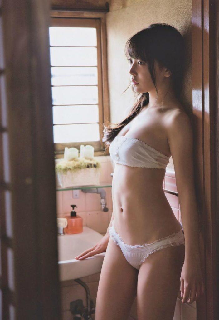 白間美瑠グラビアエロ画像12