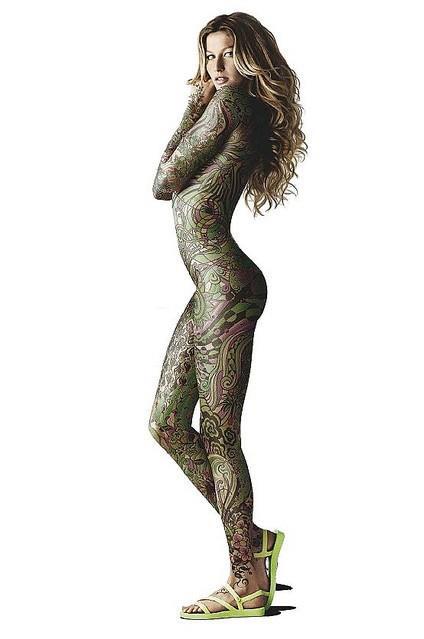 タトゥー大量外国人のヌードエロ画像35枚・22枚目の画像